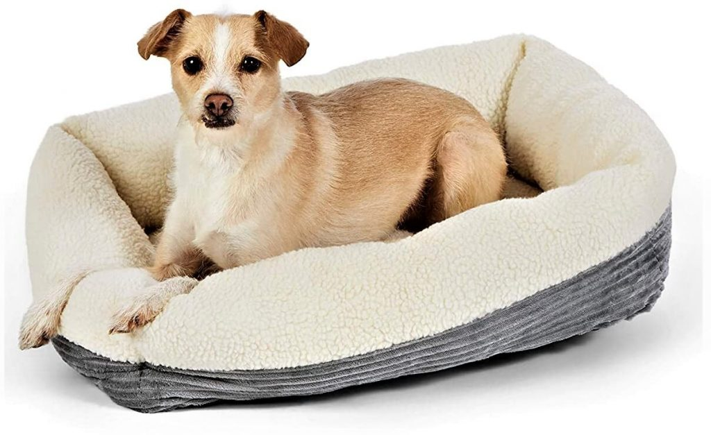 Amazon Basics Warming Pet Bed For Dogs