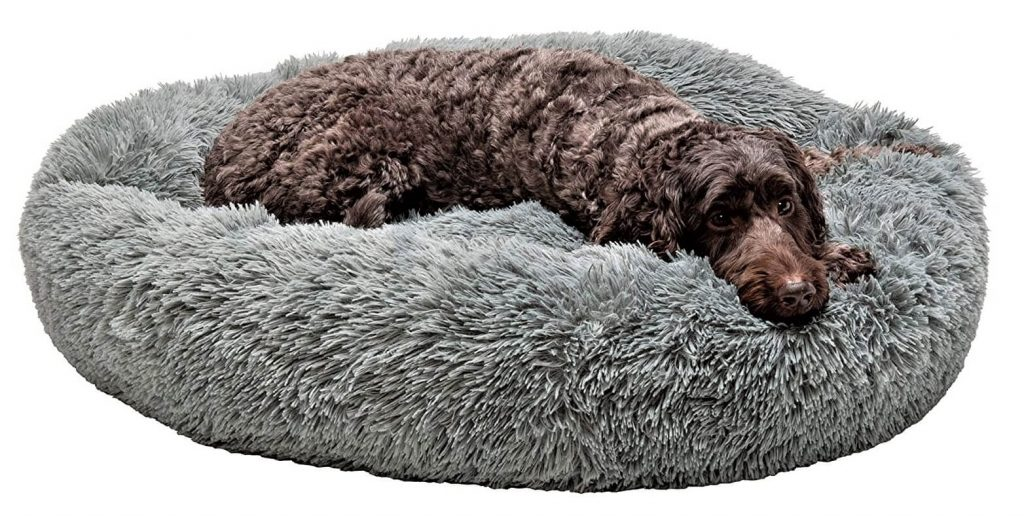 Furhaven Store Pet Plush Beanbag Style Dog Bed