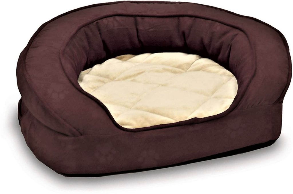 K&H PET PRODUCTS Deluxe Ortho Bolster Sleeper Pet Bed
