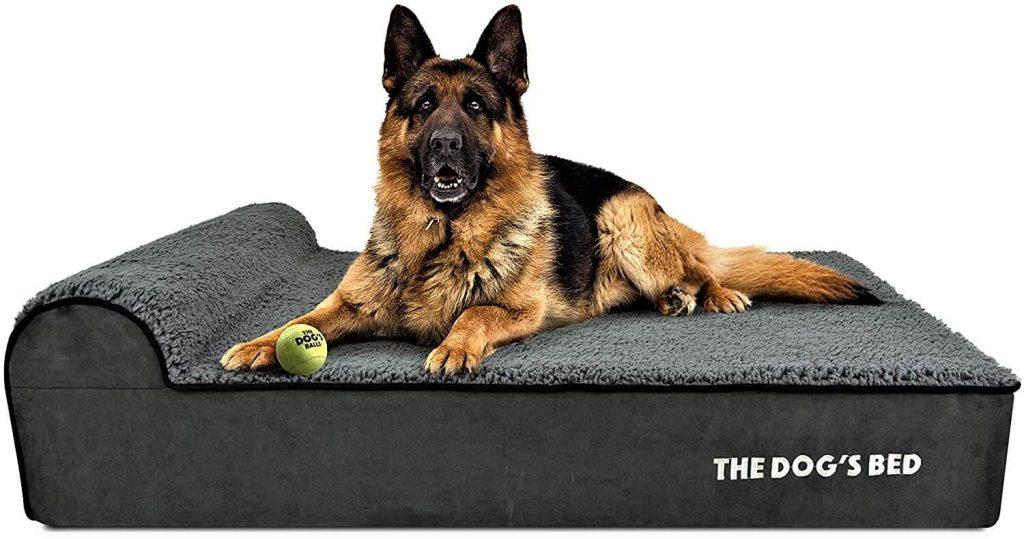 The Dog Bed Orthopedic Headrest Dog Bed