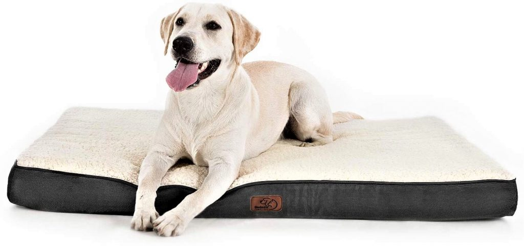 Bedsure Large Dog Bed for Large Dogs Up to 75lbs