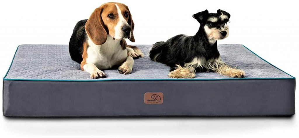 Bedsure Large Orthopedic Dog Bed for Large Dogs