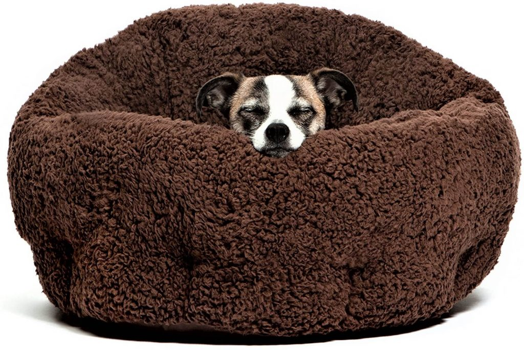 Best Friends by Sheri OrthoComfort Deep Dish Cuddler Dog Bed