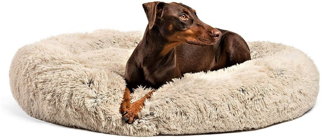 Best Friends by Sheri The Original Calming Donut Dog Bed