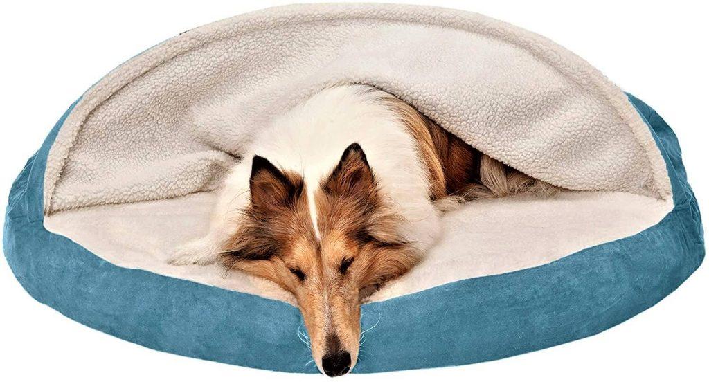 Furhaven Round Pet Bed