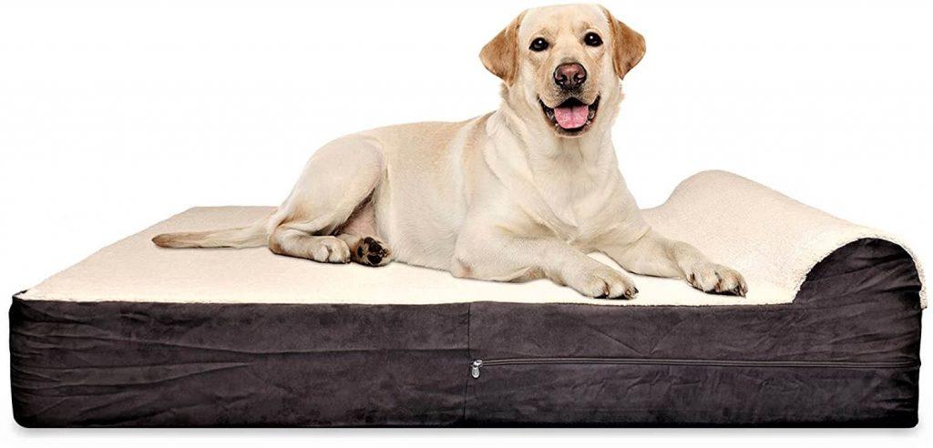 Jumbo XL Orthopedic High Grade Memory Foam Dog Bed