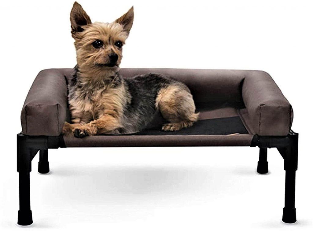 K&H PET PRODUCTS Original Bolster Pet Cot Elevated Pet Bed
